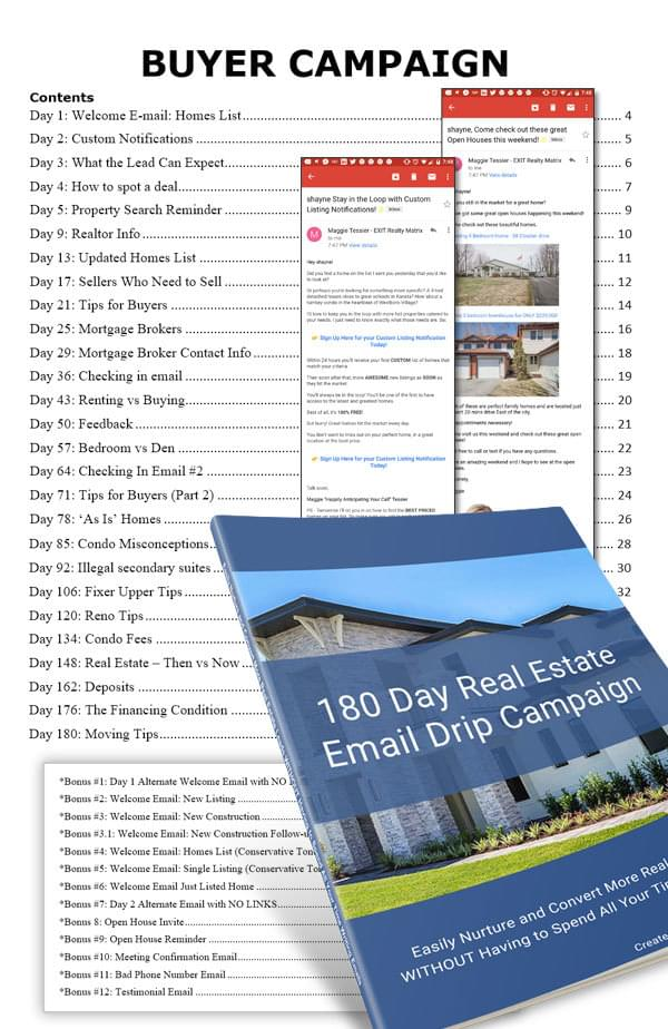 180 Day Email Sequence for Real Estate Leads